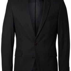 Selected Shdone Taxcash Black Blazer Puvun Takki