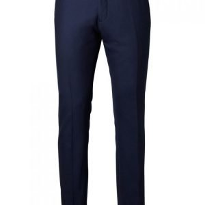 Selected Shdone Taxcash Navy Trouser Puvun Suorat Housut