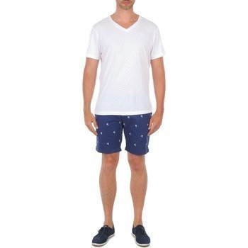 Selected Three Paris twilight palm emb shorts C bermuda shortsit