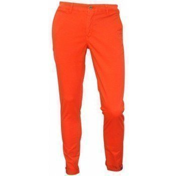 Serge Blanco Chino orange slim chinot