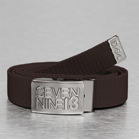 Seven Nine 13 Vyö Ruskea