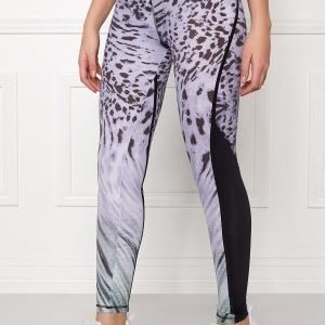 Shape Me Up Djungle Tights Black/Djungle Print