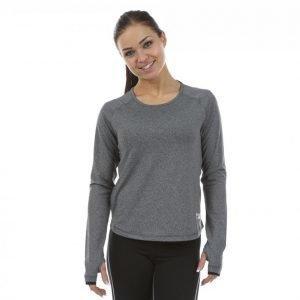 Shape Me Up Mesh Sweater Treenipaita Harmaa