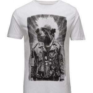 Shine Original Rockprinttees/S lyhythihainen t-paita