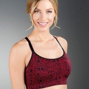 Simone Urheiluliivit Musta / Punainen