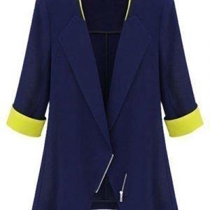 Sininen v-jakku