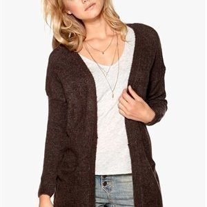 Sisters Point Anda Cardigan Brown Melange
