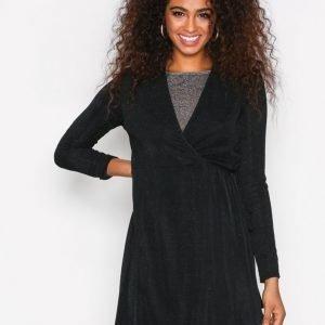 Sisters Point Cofa Dress Kotelomekko Musta