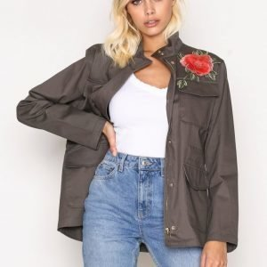 Sisters Point Deflo Jacket Parkatakki Army