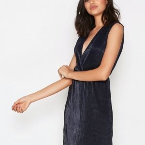 Sisters Point Engel Dress Loose Fit Mekko Navy