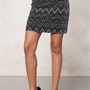 Sisters Point Evi-1 skirt Black/Silver