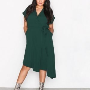Sisters Point Eye Dress Loose Fit Mekko Green