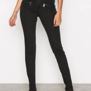 Sisters Point Fever Jeans Slim Farkut Black