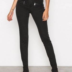 Sisters Point Fever Jeans Slim Farkut Black