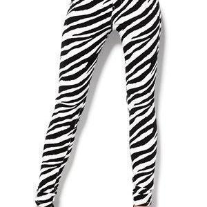 Sisters Point Flow-1 Pants Zebra