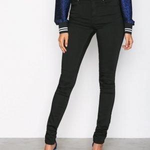 Sisters Point Forever Jeans Slim Farkut Black