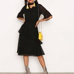 Sisters Point Gabit Dress Kotelomekko Black