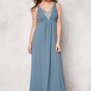 Sisters Point Galant dress Dusty Blue