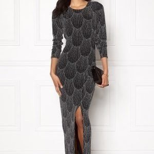 Sisters Point Gelly Dress 001 Black/silv