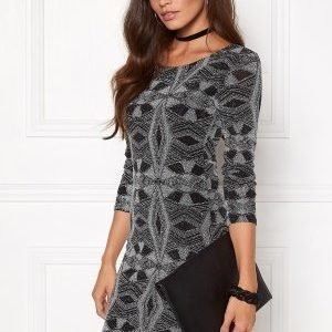 Sisters Point Gexo-15 Dress Black/Silver