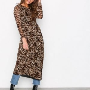 Sisters Point Gia Dress Loose Fit Mekko Animal
