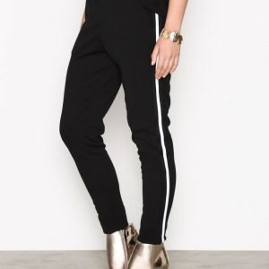 Sisters Point Gings Pants Housut Black / White