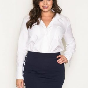Sisters Point Gings Skirt Minihame Navy
