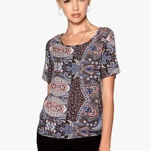 Sisters Point Gok top Blue/Paisley