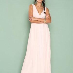 Sisters Point Grip Dress Maksimekko Light Pink
