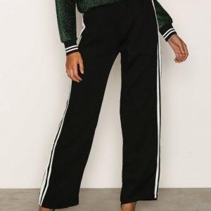 Sisters Point Gruso Pants Housut Black / White