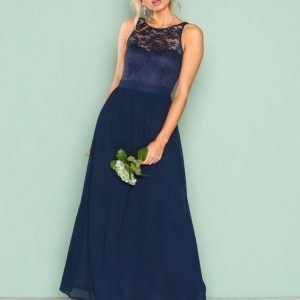 Sisters Point Guff Dress Maksimekko Navy