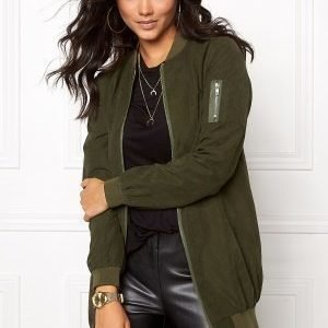 Sisters Point Gusha L Jacket Army