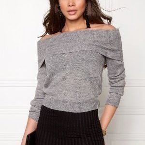 Sisters Point Honey-Pu Knit L.Grey Mel