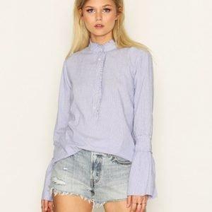 Sisters Point Ima-1 Shirt Kauluspaita Blue / White