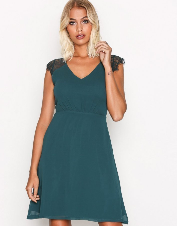 Sisters Point Nails Dress Juhlamekko Green - Vaatekauppa24.fi e428e9a15a