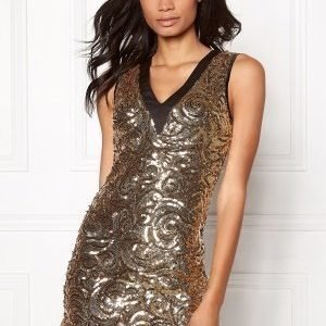 Sisters Point Nelli-1 Dress Gold