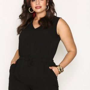 Sisters Point Newark Jumpsuit Playsuit Black