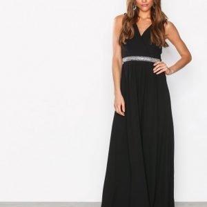 Sisters Point Nexo Dress Maksimekko Musta / Hopea