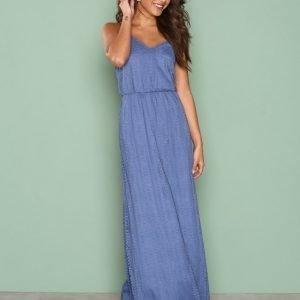 Sisters Point Nill Dress Maksimekko Dusty Blue