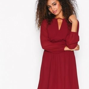 Sisters Point Nobis Dress Skater Mekko Bordeaux