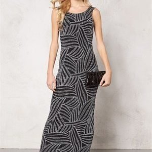 Sisters Point Nobus-1 dress Black/Silver