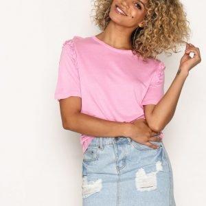 Sisters Point Pasi T-Shirt T-Paita Pink Lady