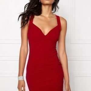 Sisters Point Seat Dress Red