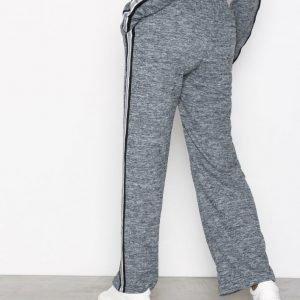 Sisters Point Viona Pants Housut Grey Melange