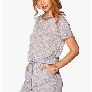 Six Ames Ramona Dress Grey Melange