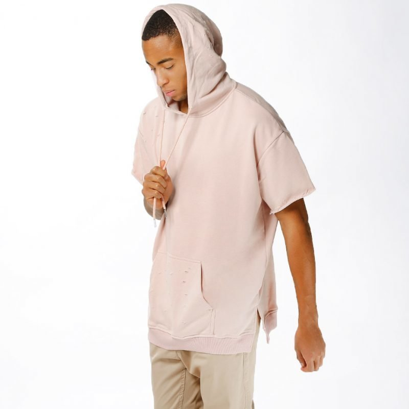 Sixth June Oversized & Destroyed Hoody -t-paita