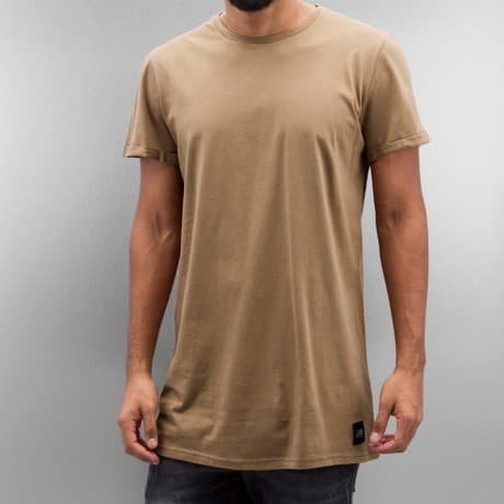 Sixth June T-paita Ruskea