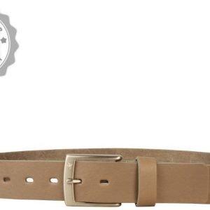 Skärp Brooksfield Läder | Grå 110-125cm