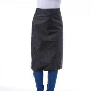 Skhoop Rain Mid Skirt Hame Musta