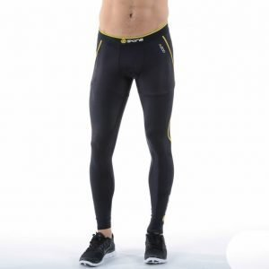 Skins A200 Mens Compression Tights Kompressiotrikoot Musta